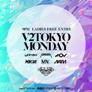 V2 Tokyo Monday