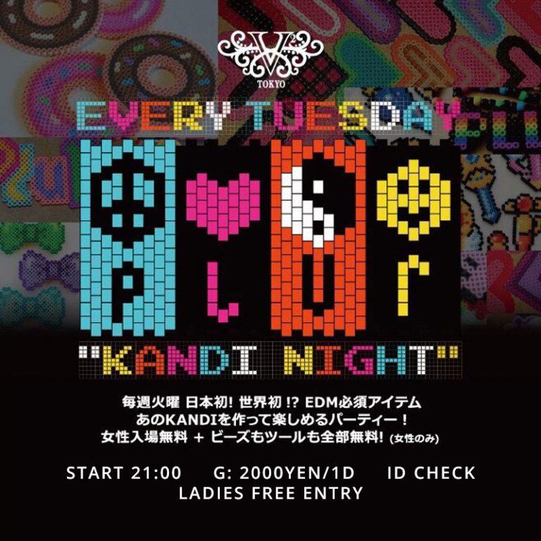 KANDI NIGHT Tuesday