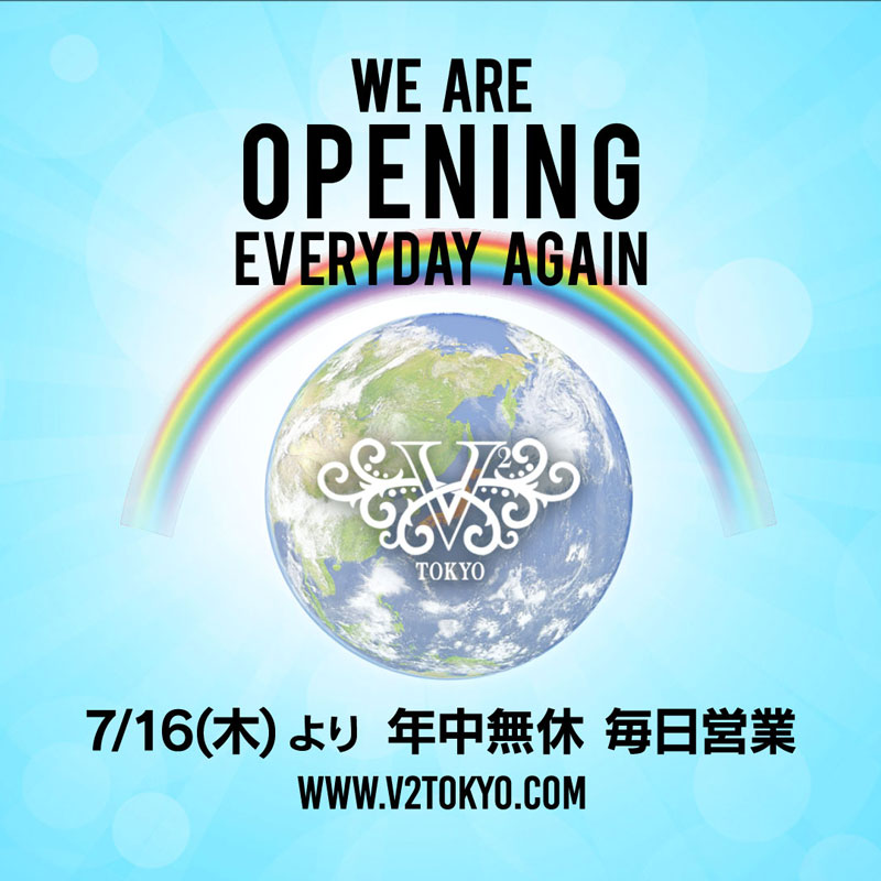 We are opening everyday again