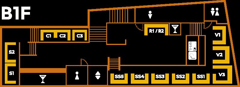B1F Floor Map
